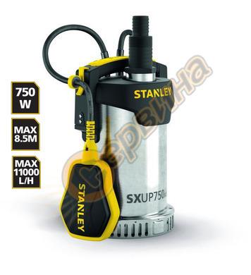 Потопяема дренажна помпа Stanley SXUP750XCE - 750W 11000л/ча