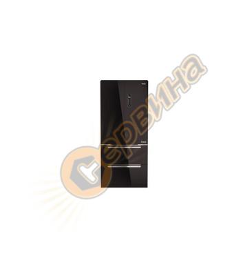 GOURMET комбиниран хладилник Teka RFD 77820 ЧЕРНО СТЪКЛО Lon