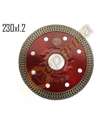 Диамантен диск Siri LPC-230 230x1.2x22,2мм - порцелан, грани