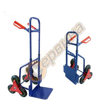 Ръчна Транспортна количка за стъпала Grafner HR2086R - макс.