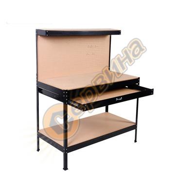 Работна маса с чекмедже и стена за инструменти  Grafner WB10