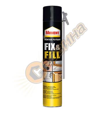 Ръчна монтажна полиуретанова пяна Moment Fix & Fill DE14002
