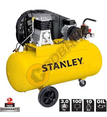 Маслен компресор Stanley Stanley B345-10-100 - 100л / 10бара