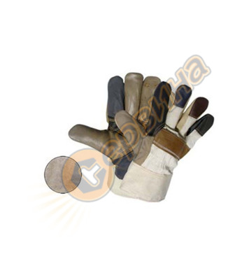 Ръкавици лицева кожа зимни FireFinch 0003-04 13173 12бр/стек