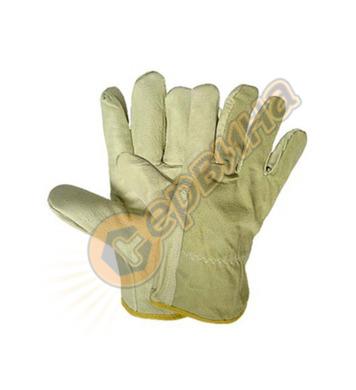 Ръкавици лицева кожа Heron 0004-01L 15027 12бр/стек