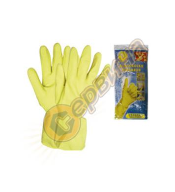 Ръкавици домакински латекс Decorex ELD22 13657 12бр/стек