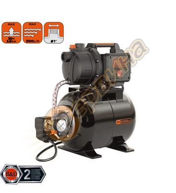 Хидрофор за чиста вода Black&Decker BXGP600PBE - 600W 3100л/