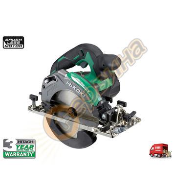 Ръчен циркуляр HiKoki-Hitachi C6MEY-WBZ + Комплект накрайниц