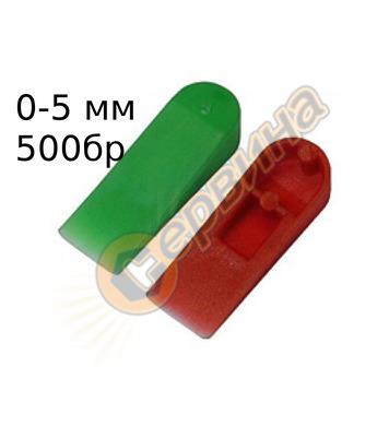 Клин за фуги на плочки-гранитогрес-камък Sigma 40-C - 0-5мм