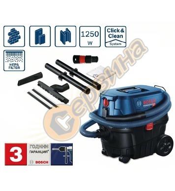 Прахосмукачка за сух и мокър режим Bosch GAS 12-25 PS 060197