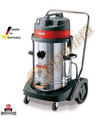 Професионална прахосмукачка за сухо и мокро вакуумно почиств