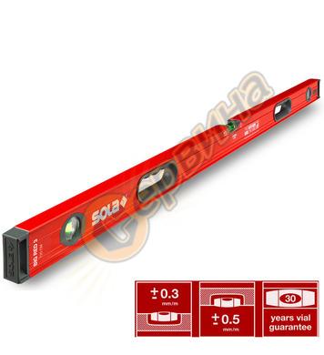 Алуминиев нивелир Sola Big Red 3 120 01219401 - 120см