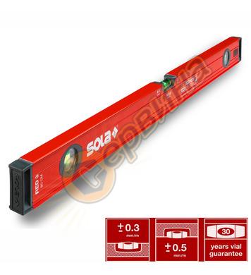 Алуминиев нивелир Sola Red 3 80 01215101 - 80см