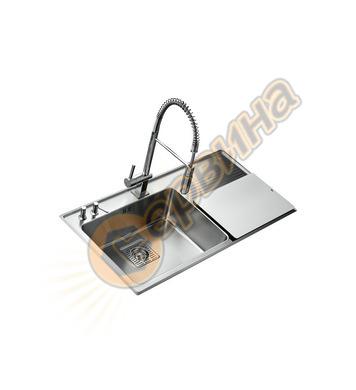 Иноксова мивка за вграждане Teka FRAME 1C PLUS - за шкаф със