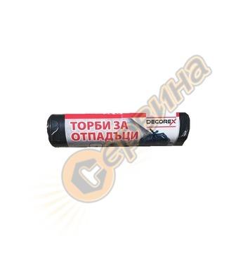 Полиетиленови пликове за отпадъци Decorex 35-60-70-80-120-13