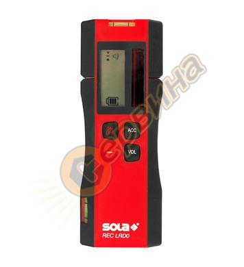 Приемник за линеен нивелир лазерен с червен лъч Sola REC LRD