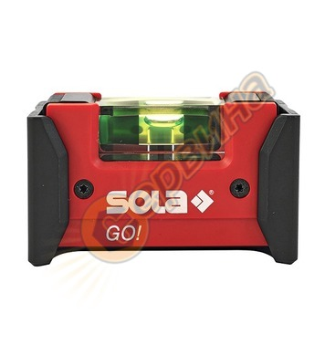 Пластмасов нивелир мини с клипс Sola Go! 01620201 - 7.5см
