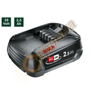 Акумулаторна батерия Bosch PBA 1600A005B0 - 18V/2.5Ah Li-Ion