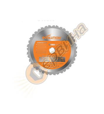 Универсален диск  Evolution RAGE 185мм - 185x20x1.7мм RAGEBL