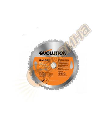 Универсален диск  Evolution RAGE 255мм - 255x25.4x1.7мм RAGE