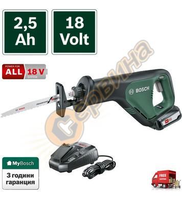 Акумулаторен саблен трион Bosch AdvancedRecip 18 06033B2401