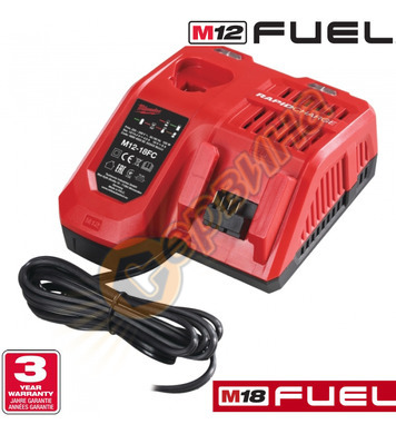 Зарядно устройство за акумулаторни машини Milwaukee M12-18FC