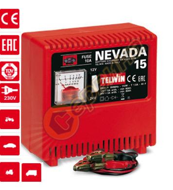 Зарядно устройство Telwin NEVADA 15 TN807026 - 12/24V/9А