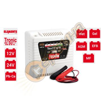 Зарядно устройство Telwin Touring 15 TN807592 12/24V - 130W