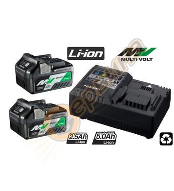 Комплект акумулаторни батерии и зарядно HiKoki-Hitachi UC18Y