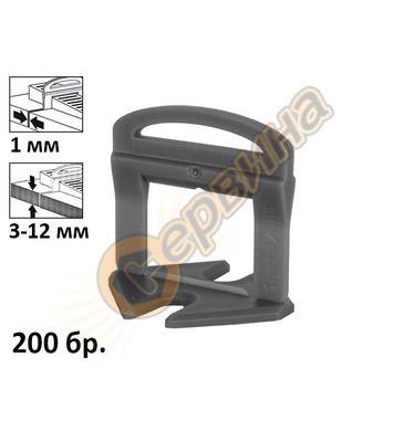 Изравнител за плочки Rubi Delta Strip 02851 - 1.0мм