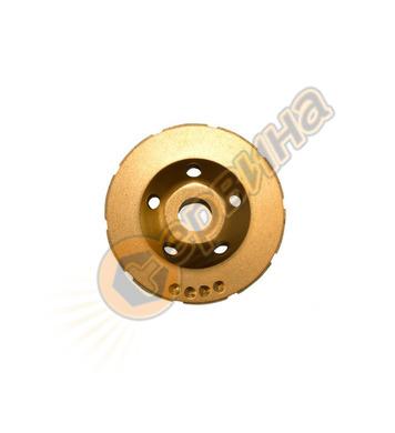 Диамантен диск  Wert - за шлайфане на бетон Ф 100 мм, 100x22