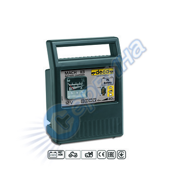 Зарядно за акумулатор Deca MACH113 301200 - 12V/10-40Ah