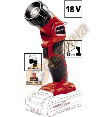 Акумулаторен LED фенер Einhell TE-CL 18 H Li - Solo 4514130