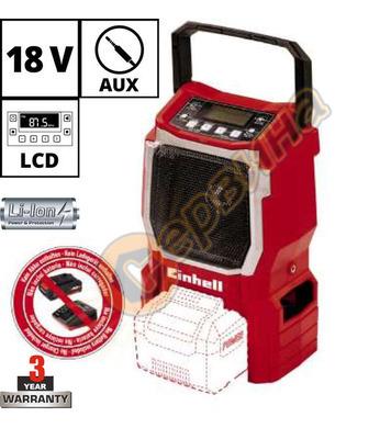 Акумулаторно радио Einhell TE-CR 18 Li-solo 3408015 - 18 V L