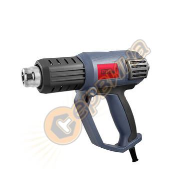 Пистолет за горещ въздух Gude HLG 600-2000 LED 2000W 58191