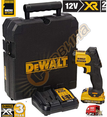Акумулаторна термокамера DeWalt DCT414D1 - 12V/2.0Ah Li-Ion