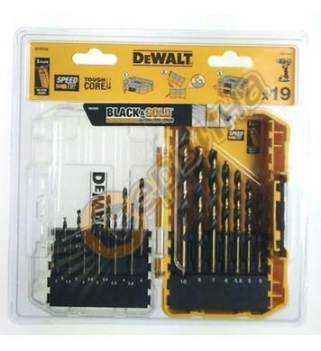 Комплект свредла DeWalt DT70728-QZ - 19части