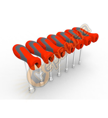 Комплект вложки с мултифункционални ръкохватки Crescent 7 ча
