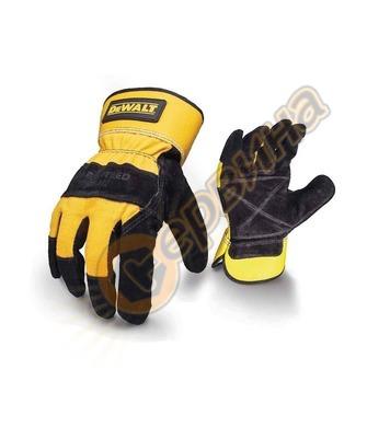 Ръкавици от телешки велур DeWalt Leather Rigger DPG41L EU -