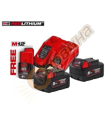 Акумулаторен комплект батерии Milwaukee M18NRG-502 493345921