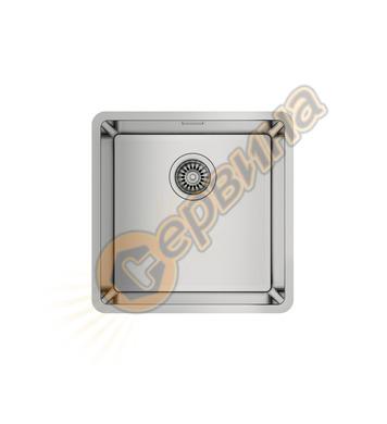 Подплотова иноксова мивка Teka BE LINEA RS15 40.40 - за шкаф