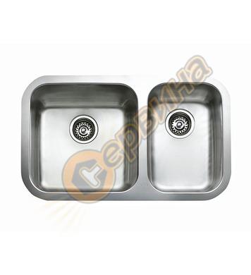 Подплотова иноксова мивка Teka BE 785 2С - за шкаф със светъ