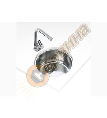 Подплотова иноксова мивка Teka BE Ø39 - за шкаф със све