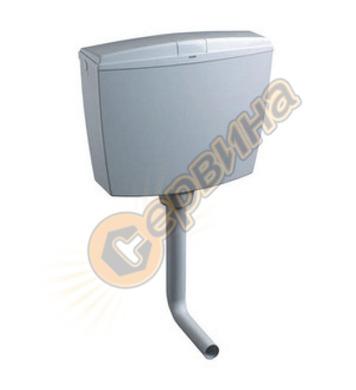 Стенно тоалетно казанче Oliver- Smeraldo W490041701 ABS-плас