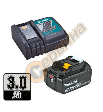 Акумулаторен комплект батерии Makita 191A24-4 - 18V/3.0Ah Li