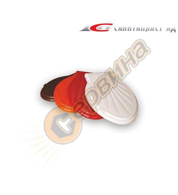 Тоалетна седалка Санитапласт 3510004 оранжев
