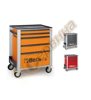 Сервизна количка за инструменти Beta с 5 чекмеджета C24S/5
