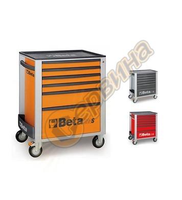 Сервизна количка за инструменти Beta с 6 чекмеджета C24S/6