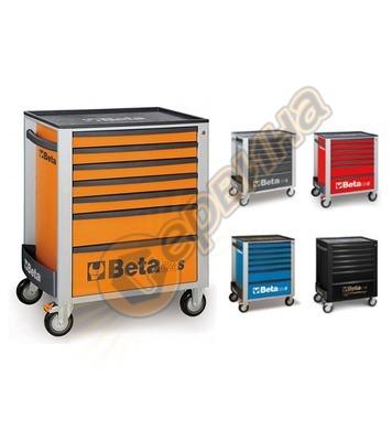 Сервизна количка за инструменти със 7 чекмеджета Beta C24S/7