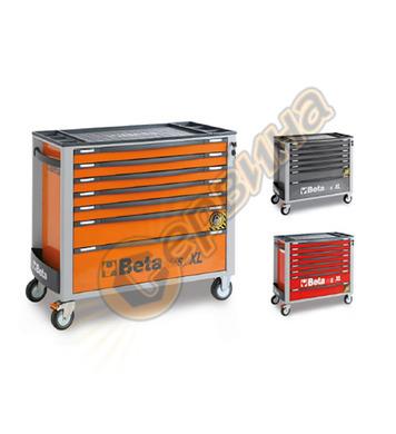 Сервизна количка за инструменти със 7 чекмеджета Beta C24SA-